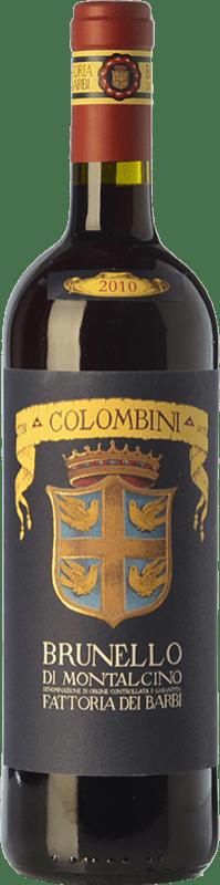 34,95 € Envío gratis | Vino tinto Fattoria dei Barbi Selezione Colombini D.O.C.G. Brunello di Montalcino Toscana Italia Sangiovese Botella 75 cl