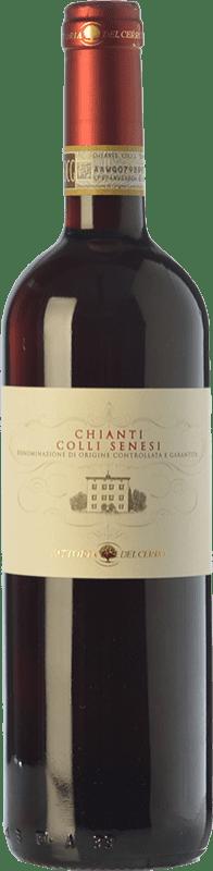 11,95 € Free Shipping | Red wine Fattoria del Cerro Colli Senesi D.O.C.G. Chianti Tuscany Italy Merlot, Sangiovese Bottle 75 cl