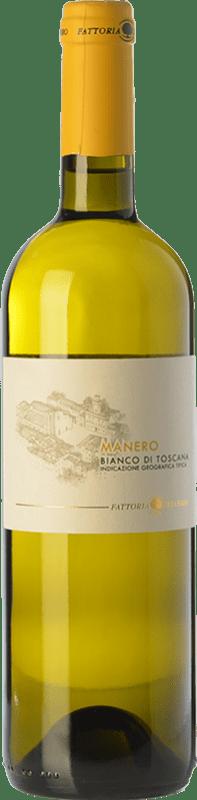 9,95 € Free Shipping | White wine Fattoria del Cerro Manero Bianco I.G.T. Toscana Tuscany Italy Trebbiano, Muscatel White Bottle 75 cl