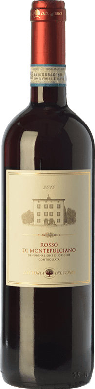 11,95 € Free Shipping | Red wine Fattoria del Cerro D.O.C. Rosso di Montepulciano Tuscany Italy Syrah, Sangiovese Bottle 75 cl