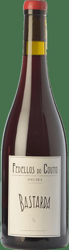 29,95 € Envío gratis | Vino tinto Fedellos do Couto Bastarda Crianza D.O. Ribeira Sacra Galicia España Bastardo Botella 75 cl