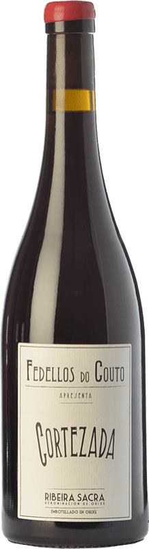 19,95 € | Red wine Fedellos do Couto Cortezada Crianza D.O. Ribeira Sacra Galicia Spain Mencía Bottle 75 cl