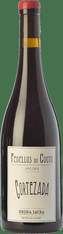 19,95 € Envío gratis | Vino tinto Fedellos do Couto Cortezada Crianza D.O. Ribeira Sacra Galicia España Mencía Botella 75 cl