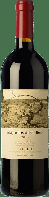 Free Shipping | Red wine Callejo Majuelos Reserva 2014 D.O. Ribera del Duero Castilla y León Spain Tempranillo Bottle 75 cl