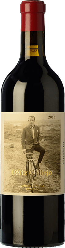 102,95 € Free Shipping | Red wine Callejo Viñedos de la Familia Crianza D.O. Ribera del Duero Castilla y León Spain Tempranillo Bottle 75 cl
