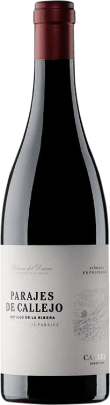22,95 € 免费送货 | 红酒 Callejo Crianza D.O. Ribera del Duero 卡斯蒂利亚莱昂 西班牙 Tempranillo 瓶子 75 cl