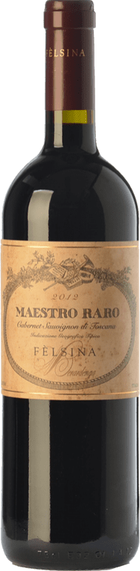 45,95 € Free Shipping | Red wine Fèlsina Maestro Raro I.G.T. Toscana Tuscany Italy Cabernet Sauvignon Bottle 75 cl