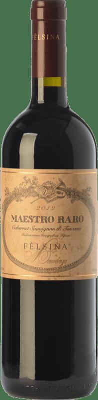 45,95 € Envoi gratuit | Vin rouge Fèlsina Maestro Raro I.G.T. Toscana Toscane Italie Cabernet Sauvignon Bouteille 75 cl