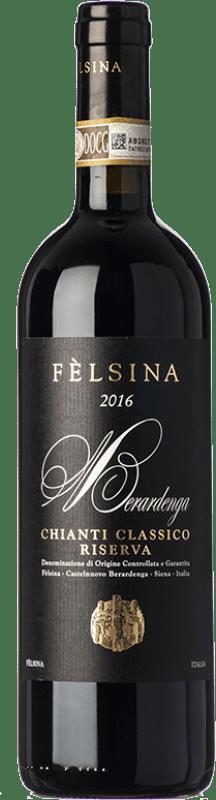 27,95 € Envío gratis | Vino tinto Fèlsina Riserva Reserva D.O.C.G. Chianti Classico Toscana Italia Sangiovese Botella 75 cl
