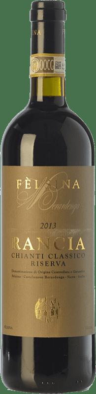 53,95 € Envoi gratuit | Vin rouge Fèlsina Riserva Rancia Reserva D.O.C.G. Chianti Classico Toscane Italie Sangiovese Bouteille 75 cl
