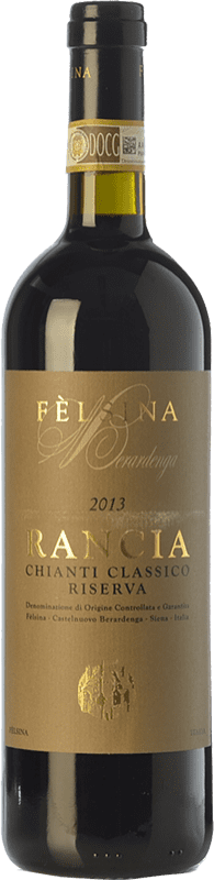 53,95 € Envío gratis | Vino tinto Fèlsina Riserva Rancia Reserva D.O.C.G. Chianti Classico Toscana Italia Sangiovese Botella 75 cl