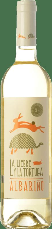 11,95 € | White wine Fento La Liebre y la Tortuga D.O. Rías Baixas Galicia Spain Albariño Bottle 75 cl