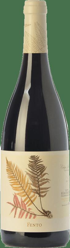 13,95 € Free Shipping | Red wine Fento Joven D.O. Rías Baixas Galicia Spain Mencía, Sousón, Caíño Black, Espadeiro, Brancellao, Pedral Bottle 75 cl