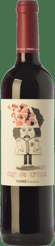 9,95 € 免费送货 | 红酒 Ferré i Catasús Cap de Trons Joven D.O. Penedès 加泰罗尼亚 西班牙 Merlot, Syrah, Cabernet Sauvignon 瓶子 75 cl