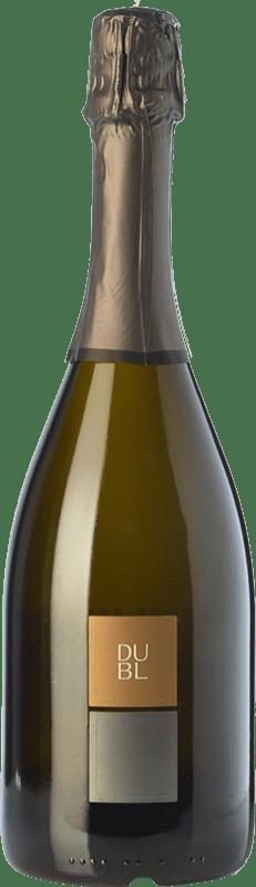 18,95 € Envío gratis | Espumoso blanco Feudi di San Gregorio Dubl Brut I.G.T. Vino Spumante di Qualità Italia Falanghina Botella 75 cl