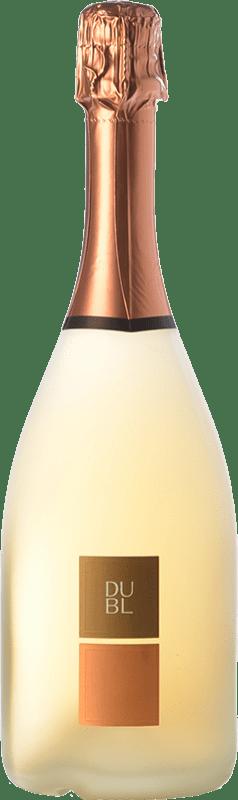 27,95 € Free Shipping | Rosé sparkling Feudi di San Gregorio Dubl Rosato I.G.T. Vino Spumante di Qualità Italy Aglianico Bottle 75 cl