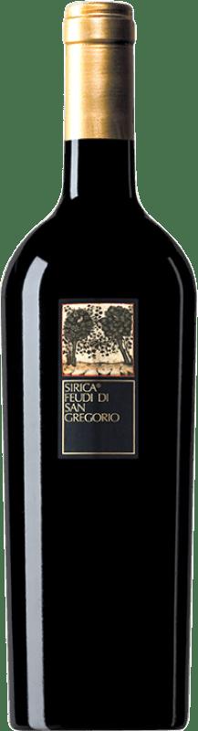 15,95 € Envío gratis | Vino tinto Feudi di San Gregorio Sirica I.G.T. Campania Campania Italia Sercial Botella 75 cl