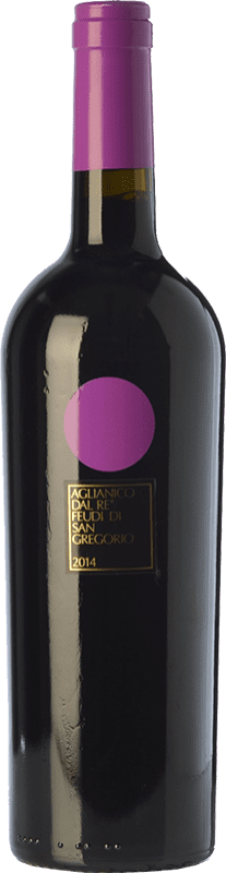 16,95 € | Red wine Feudi di San Gregorio Aglianico dal Re D.O.C. Irpinia Campania Italy Aglianico Bottle 75 cl