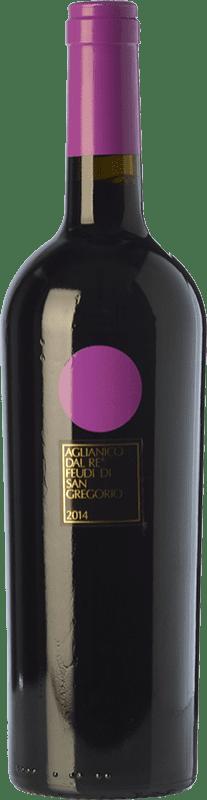 16,95 € Envío gratis | Vino tinto Feudi di San Gregorio Aglianico dal Re D.O.C. Irpinia Campania Italia Aglianico Botella 75 cl