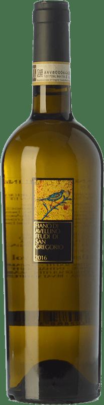 13,95 € Envío gratis | Vino blanco Feudi di San Gregorio D.O.C.G. Fiano d'Avellino Campania Italia Fiano Botella 75 cl