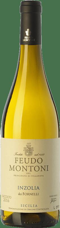 13,95 € Envoi gratuit   Vin blanc Feudo Montoni Inzolia dei Fornelli I.G.T. Terre Siciliane Sicile Italie Insolia Bouteille 75 cl