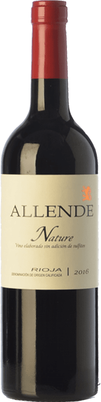 23,95 € | Red wine Allende Nature Joven D.O.Ca. Rioja The Rioja Spain Tempranillo Bottle 75 cl