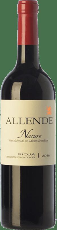 23,95 € Envío gratis | Vino tinto Allende Nature Joven D.O.Ca. Rioja La Rioja España Tempranillo Botella 75 cl