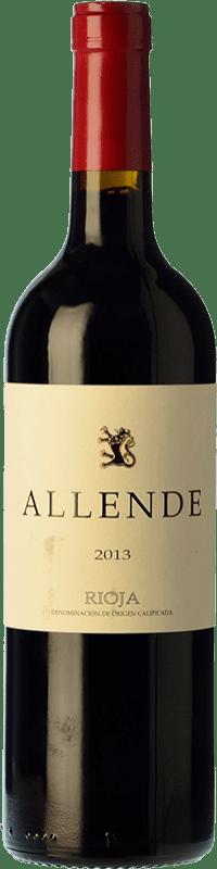 23,95 € Envío gratis | Vino tinto Allende Crianza D.O.Ca. Rioja La Rioja España Tempranillo Botella 75 cl