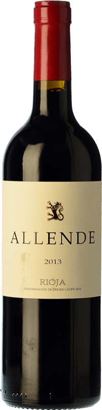 48,95 € Envío gratis | Vino tinto Allende Crianza D.O.Ca. Rioja La Rioja España Tempranillo Botella Mágnum 1,5 L