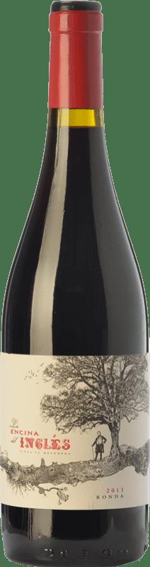 13,95 € Envío gratis | Vino tinto Finca La Melonera La Encina del Inglés Joven D.O. Sierras de Málaga Andalucía España Syrah, Garnacha Botella 75 cl