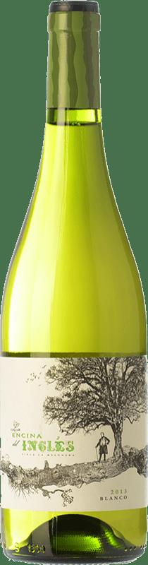 9,95 € Envío gratis | Vino blanco Finca La Melonera La Encina del Inglés D.O. Sierras de Málaga Andalucía España Moscatel Grano Menudo, Pedro Ximénez, Doradilla Botella 75 cl