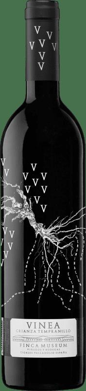 8,95 € Envoi gratuit | Vin rouge Museum Vinea Crianza D.O. Cigales Castille et Leon Espagne Tempranillo Bouteille 75 cl