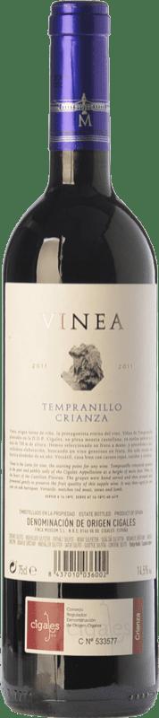 6,95 € Free Shipping | Red wine Museum Vinea Crianza D.O. Cigales Castilla y León Spain Tempranillo Bottle 75 cl