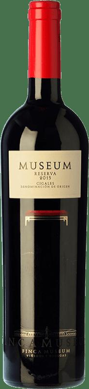 12,95 € Envío gratis | Vino tinto Museum Reserva D.O. Cigales Castilla y León España Tempranillo Botella 75 cl