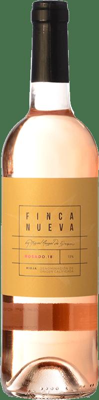 11,95 € Envoi gratuit | Vin rose Finca Nueva D.O.Ca. Rioja La Rioja Espagne Tempranillo, Grenache Bouteille Magnum 1,5 L