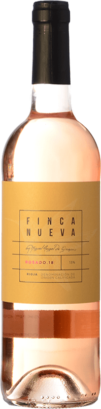 6,95 € Envoi gratuit | Vin rose Finca Nueva D.O.Ca. Rioja La Rioja Espagne Tempranillo, Grenache Bouteille 75 cl