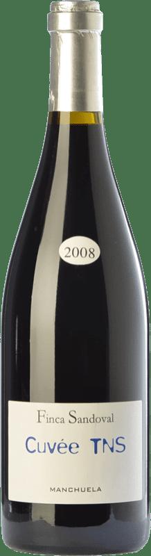 34,95 € Free Shipping | Red wine Finca Sandoval Cuvée TNS Crianza D.O. Manchuela Castilla la Mancha Spain Syrah, Touriga Nacional Magnum Bottle 1,5 L