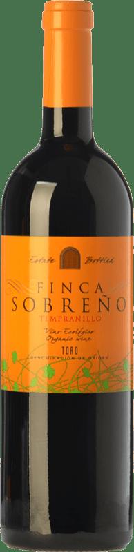 9,95 € | Red wine Finca Sobreño Ecológico Joven D.O. Toro Castilla y León Spain Tinta de Toro Bottle 75 cl