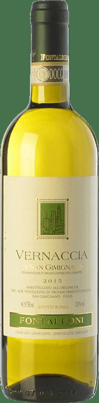 7,95 € Free Shipping | White wine Fontaleoni D.O.C.G. Vernaccia di San Gimignano Tuscany Italy Vernaccia Bottle 75 cl