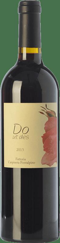 46,95 € Free Shipping | Red wine Fontalpino Do ut Des I.G.T. Toscana Tuscany Italy Merlot, Cabernet Sauvignon, Sangiovese Bottle 75 cl