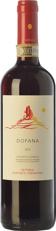 22,95 € Free Shipping | Red wine Fontalpino Selezione Dofana D.O.C.G. Chianti Classico Tuscany Italy Sangiovese Bottle 75 cl
