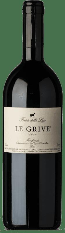 21,95 € Free Shipping | Red wine Forteto della Luja Le Grive D.O.C. Monferrato Piemonte Italy Pinot Black, Barbera Bottle 75 cl
