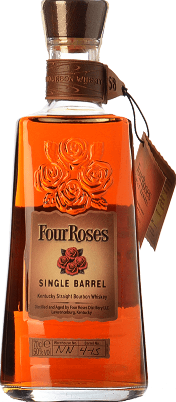 39,95 € | Bourbon Four Roses Single Barrel Kentucky United States Bottle 70 cl
