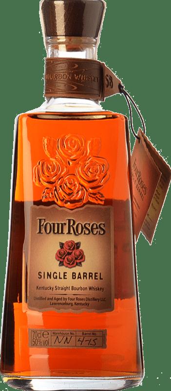 39,95 € 免费送货   波旁酒 Four Roses Single Barrel 肯塔基 美国 瓶子 70 cl