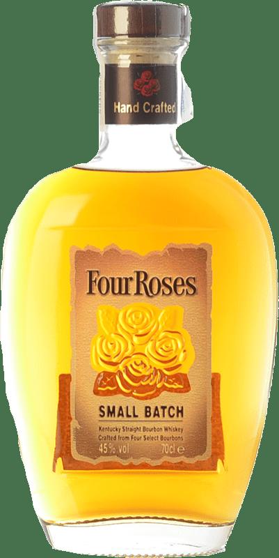 29,95 € 免费送货   波旁酒 Four Roses Smallbatch 肯塔基 美国 瓶子 70 cl
