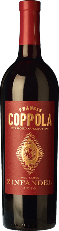 23,95 € | Red wine Francis Ford Coppola Diamond Zinfandel Crianza I.G. California California United States Petite Syrah, Zinfandel Bottle 75 cl