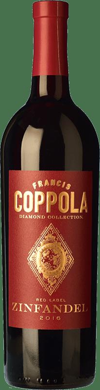 23,95 € Envoi gratuit | Vin rouge Francis Ford Coppola Diamond Zinfandel Crianza I.G. California Californie États Unis Petite Syrah, Zinfandel Bouteille 75 cl