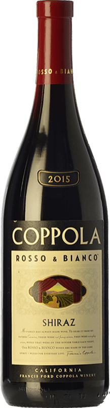 18,95 € 免费送货   红酒 Francis Ford Coppola Rosso & Bianco Shiraz Crianza I.G. California 加州 美国 Syrah, Petite Syrah 瓶子 75 cl