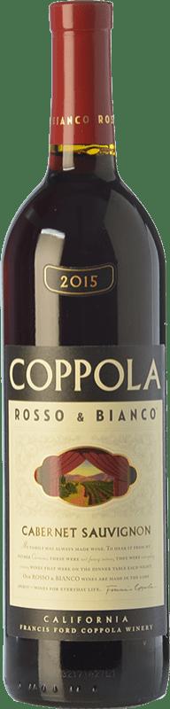 18,95 € 免费送货   红酒 Francis Ford Coppola Rosso & Bianco Crianza I.G. California 加州 美国 Cabernet Sauvignon 瓶子 75 cl