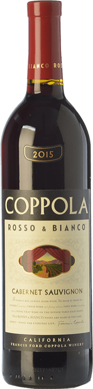 18,95 € Free Shipping | Red wine Francis Ford Coppola Rosso & Bianco Crianza I.G. California California United States Cabernet Sauvignon Bottle 75 cl